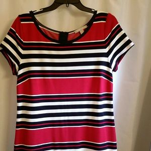Cute Banana Republic Striped Knit Dress